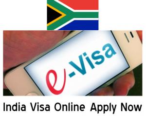 india e visa south africa