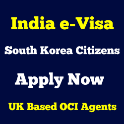 India e visa south korea
