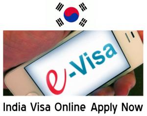 india e visa south korea