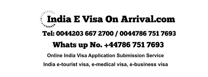 Paid India E Visa on Arrival Helpline