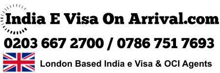 Best India E Visa OCI Card Agents UK USA Canada Australia