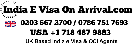 India Visa Agents OCI India E Visa UK USA Canada Australia